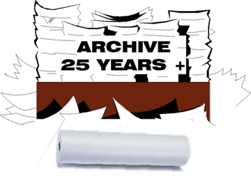 25 year archive thermal paper