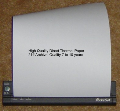 Direct Thermal Paper Sheets